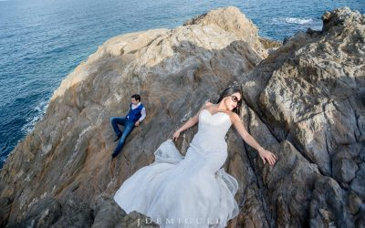 Trash the dress in Girona
